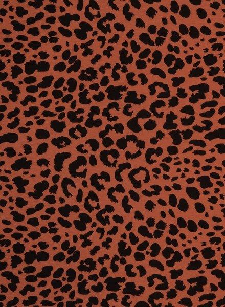 leopard rust- jersey