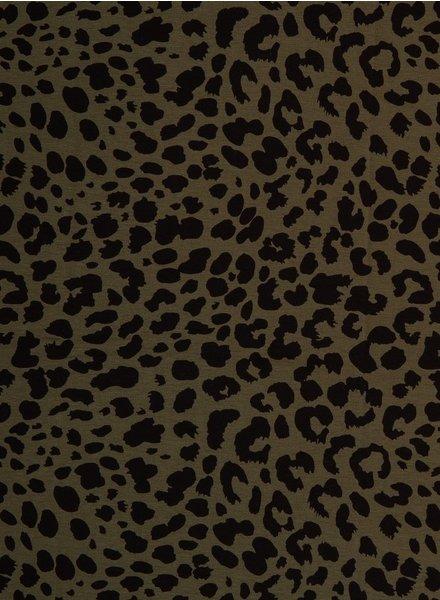 leopard khaki - jersey