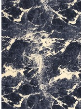 marble blue - french terry