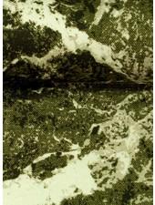 marble khaki - french terry