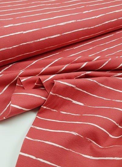 coral pencel print - jersey