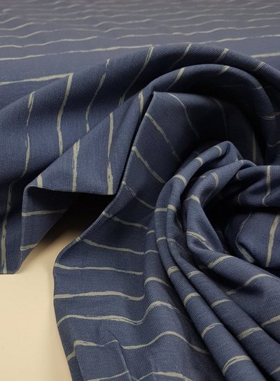blue pencel print - jersey