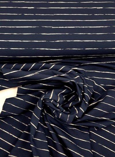 marine potlood print - tricot