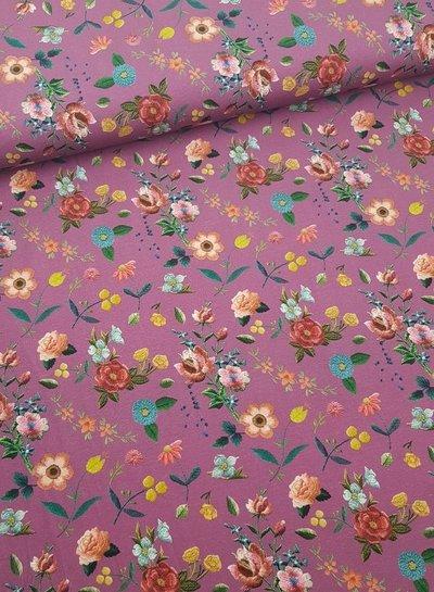 lila Suri's big flowers - jersey