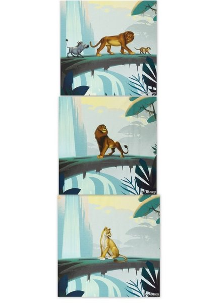 Lion King paneeltjes - tricot