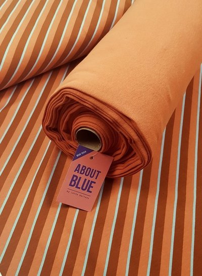 about blue fabrics coral gold ABF boordstof