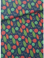 green trees  - cotton
