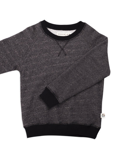 black slub - sweater