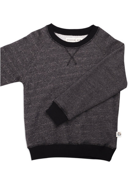 black slub - sweater