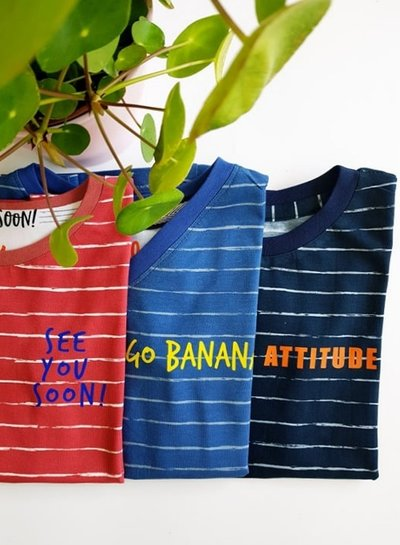 koraal potlood print - tricot