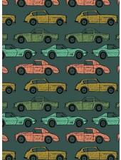 cars flessengroen - soft sweater GOTS