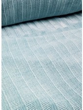 mint blue - soft touch knitted fabric