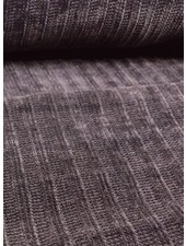 grijs - superzachte gebreide stof