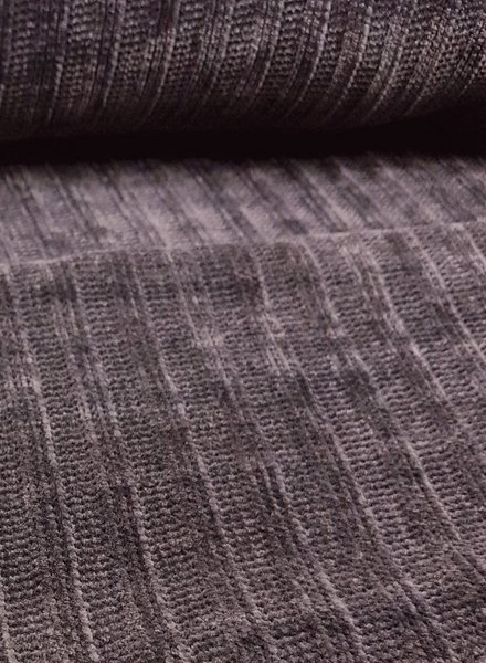 gray - soft touch knitted fabric