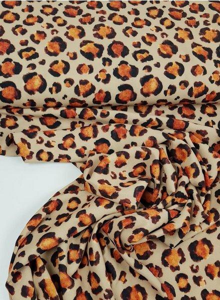 la maison victor classy leopard print - crêpe