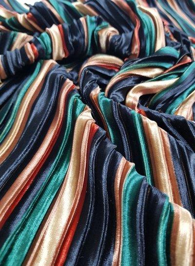 velvet plisse