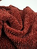 cable textured knit fabric - chenille - super soft fabric