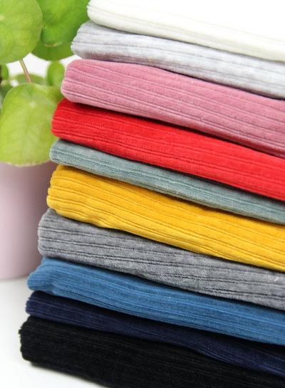 red - stretch corduroy - 100% cotton