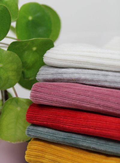 light grey - stretch corduroy - 100% cotton