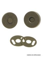magneetsluiting brons 18mm