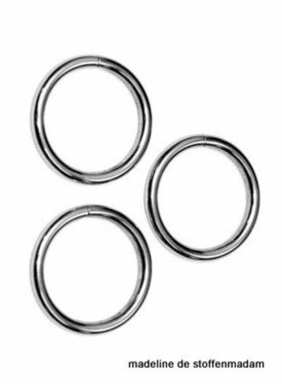 O-ring zilverkleurig diameter 30mm