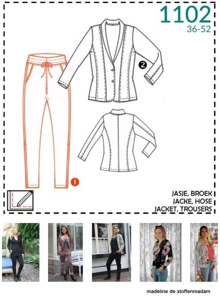 it's a fits - 1102 jacket and trousers