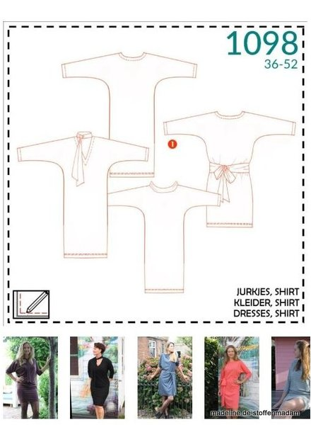 it's a fits  -  1098 jurkjes, shirt