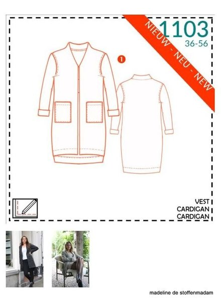 it's a fits  -  1103 cardigan
