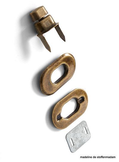 Prym Turn clasp copper
