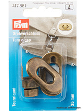 Prym Turn clasp copper