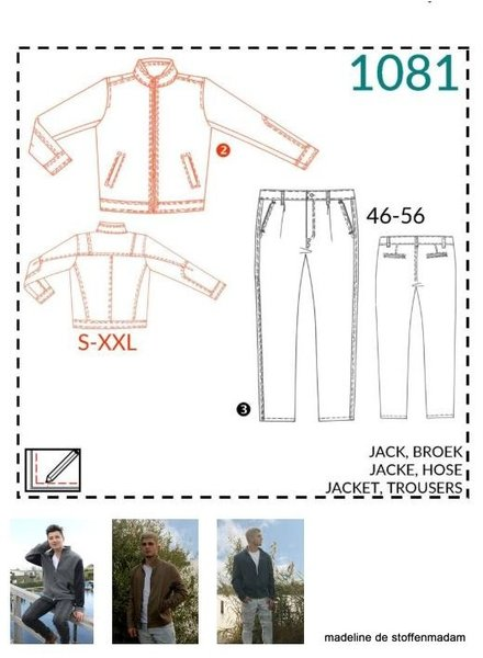 it's a fits  -  1081 jack en broek
