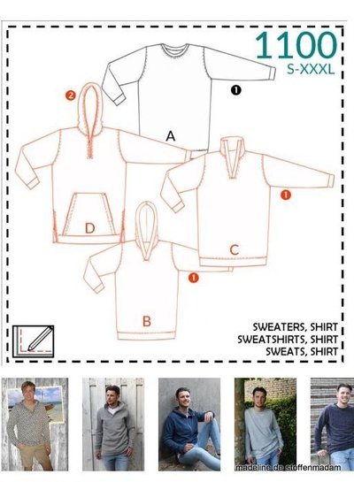 it's a fits  -  1100 sweaters, shirt