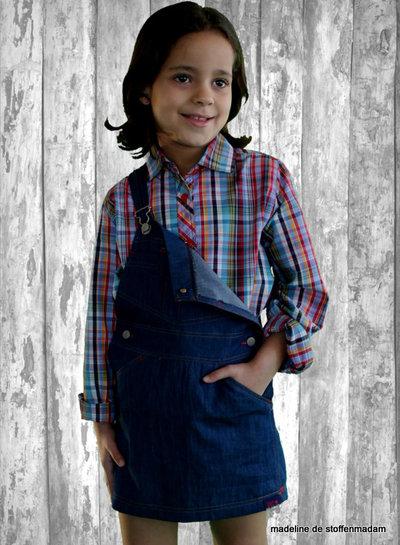 abacadabra - 202 - blouse, dungaree skirt, skirt