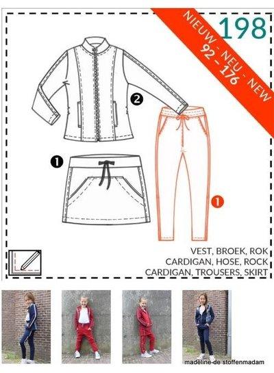 abacadabra - 198 - vest, broek, rok