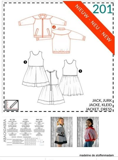 abacadabra -201- jacket, dress