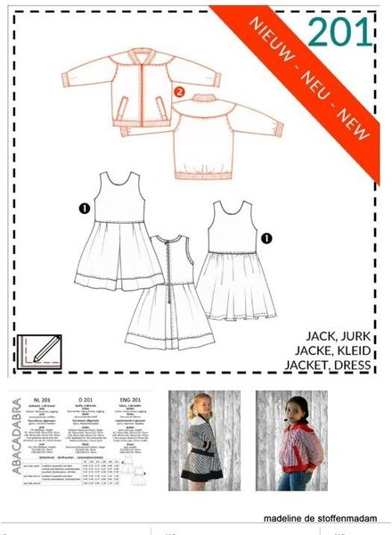 abacadabra -201- jacket, dress
