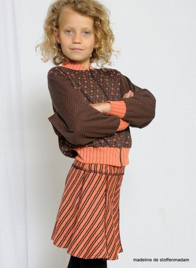 abacadabra - 164 - jacket, sweat and skirt