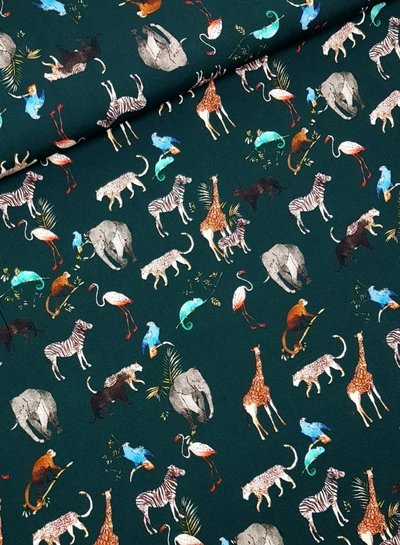 animals - viscose
