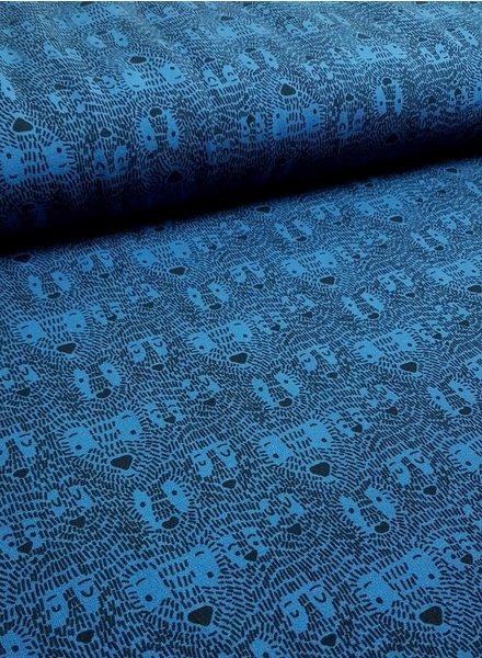 hide & seek cobalt - french terry