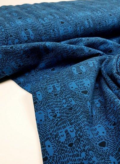 hide & seek kobalt - french terry