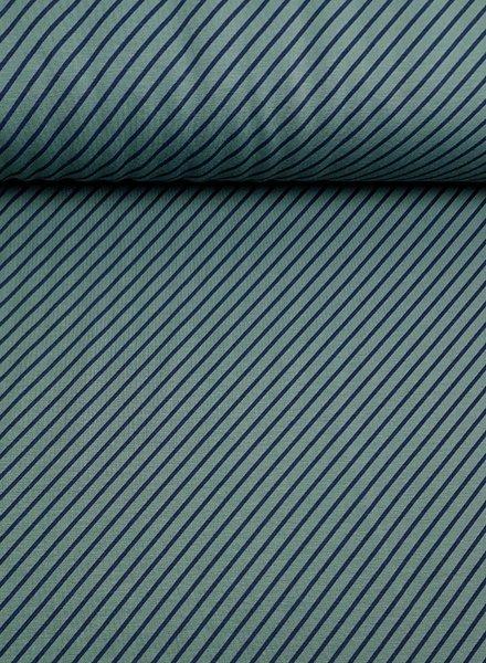 diagonal stripes - sweater