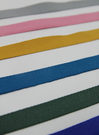 Coton twill tape 14 mm of 25 mm