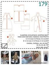 abacadabra - 179 - sleeping bag, footmuff, all-in-one, bear