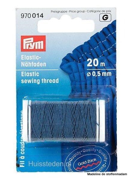Prym elastisch garen blauw