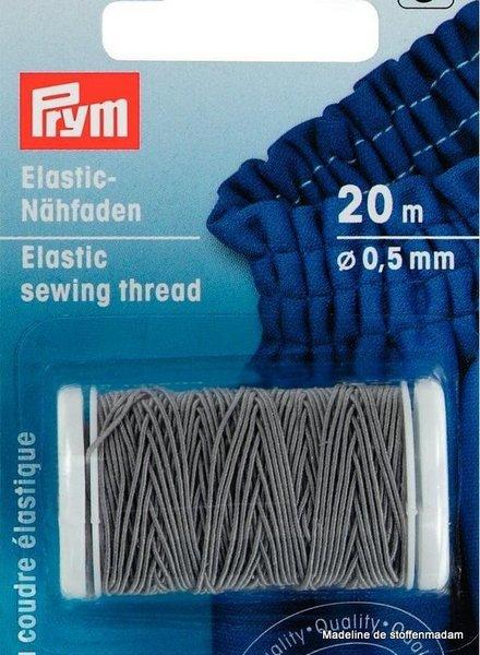 Prym elastisch garen grijs