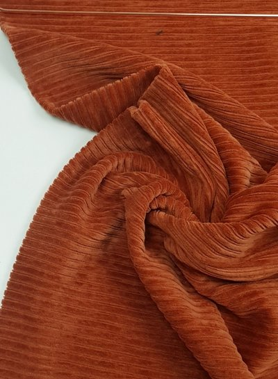 rusty - stretch corduroy - 100% cotton