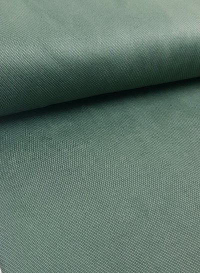 diagonaal gestreept khaki - suede scuba