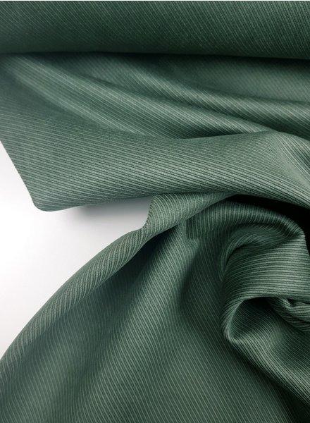 diagonal striped khaki - suede scuba