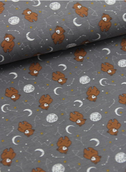 sleepy bear taupe - tricot