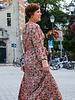 A shining Voque dress